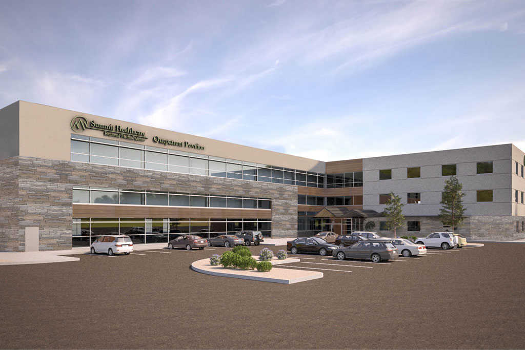 NexCore Breaks Ground on Three-Building Outpatient Campus for Summit Healthcare
