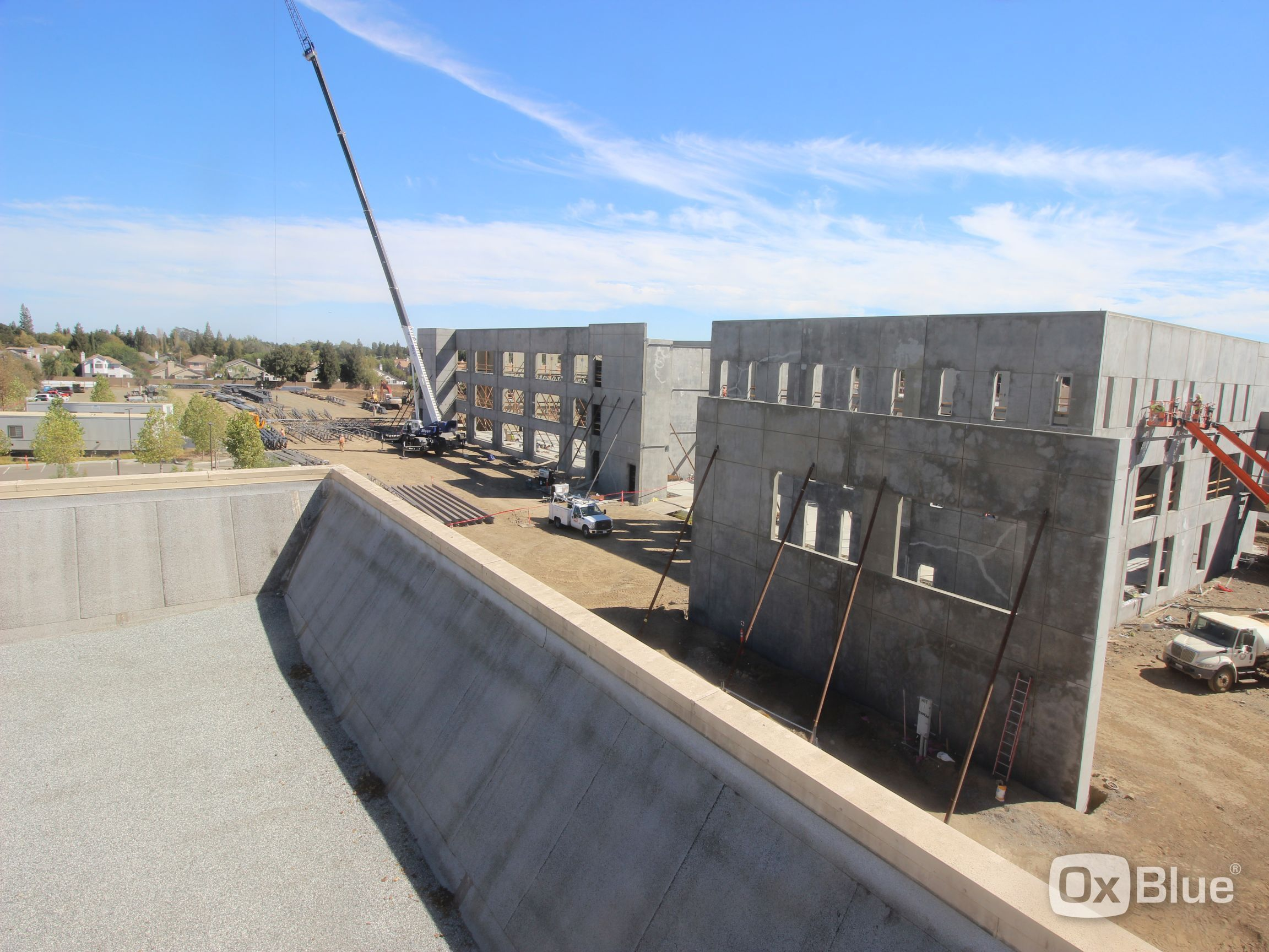 NorthBay VacaValley Wellness Center Construction Web Cam